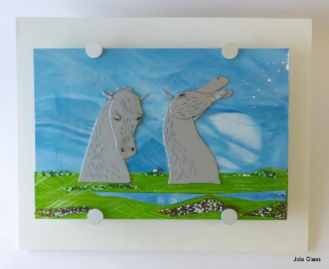 Kelpies Wall Panel