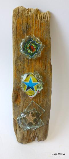 Driftwood panel (with stars)