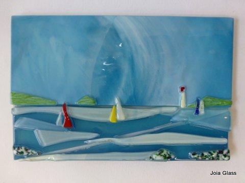 small sea scene panel